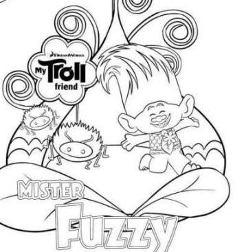 Mister Fuzzy Friend