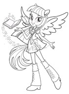 MLP Equestria Girls Twilight Sparkle With Wings