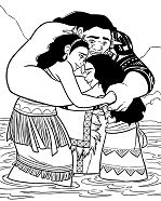 Moana and Family