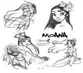 Princess Moana Disney Fan Art