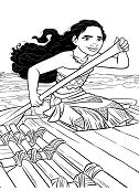 Moana In A Boat