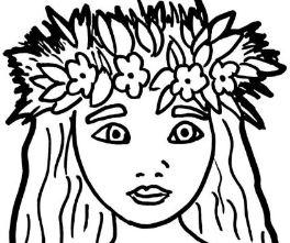Princess Moana Coloring Page