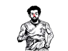 Mohamed Salah-image 2 Coloring Page