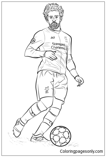 Mohamed Salahimage 3 Coloring