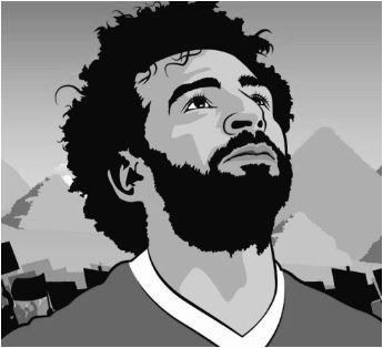 Mohamed Salah Coloring Pages Coloringpagesonly Com