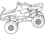 Monster Jam Scooby Doo Monster Truck Coloring Page