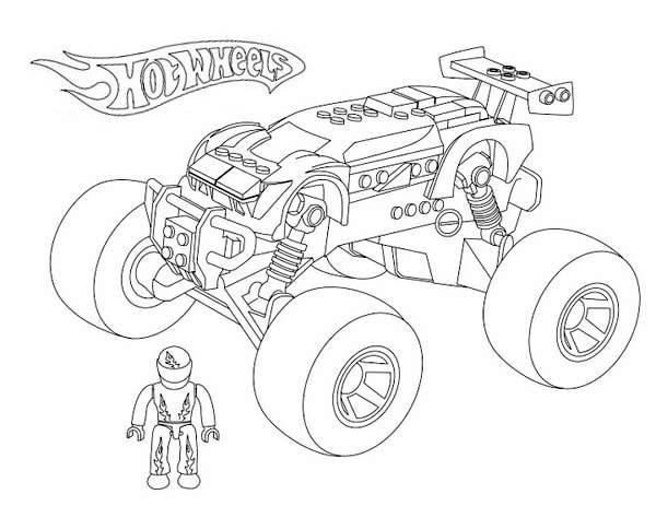 Monster Truck Hot Wheels 2