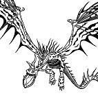 Monstrous Nightmare Dragon