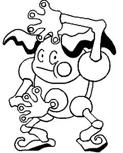 Mr.Mime Form Pokemon