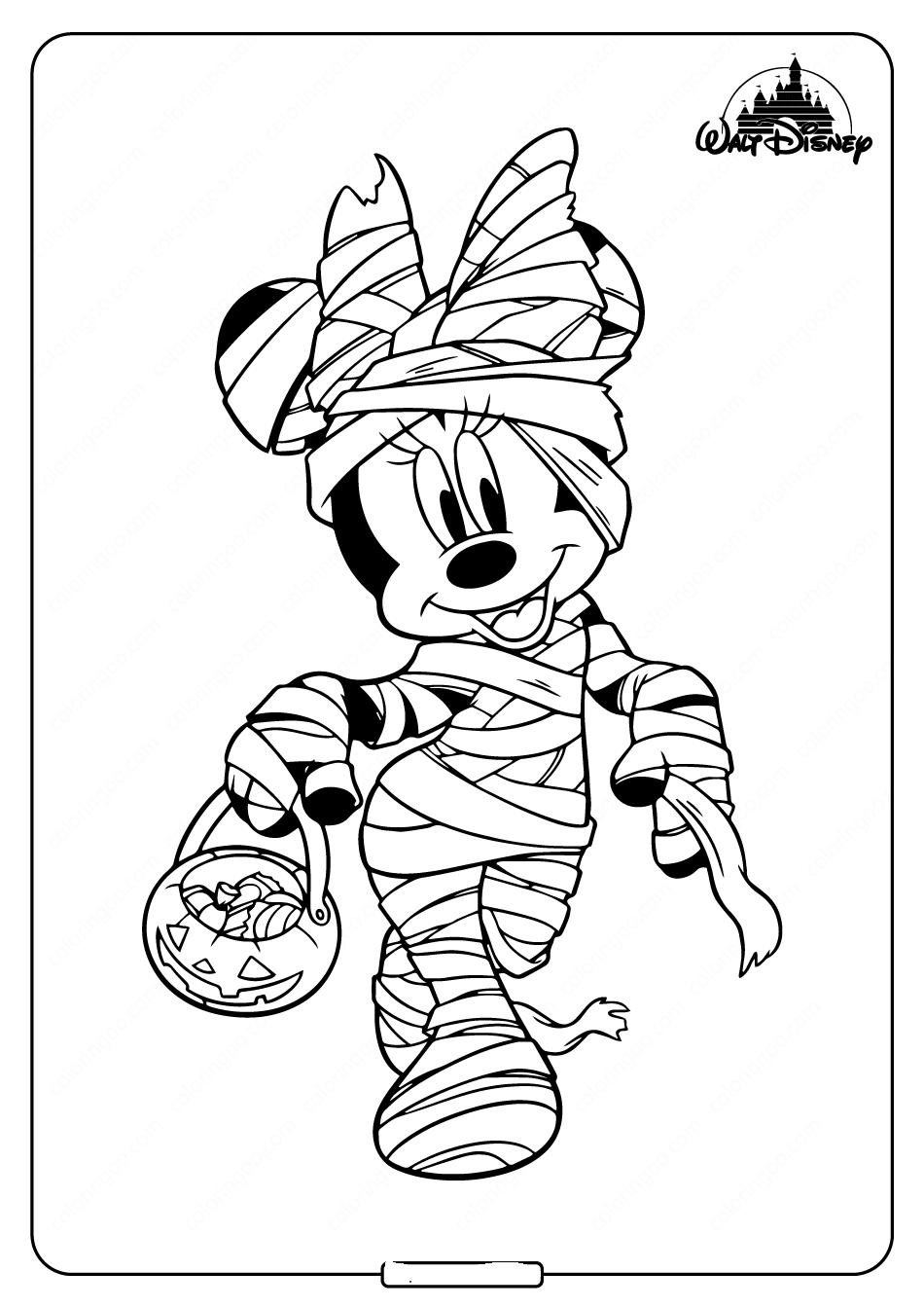 Mummy Minnie Mouse