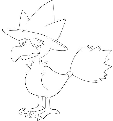 Murkrow Form Pokemon
