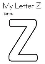 My Letter Z