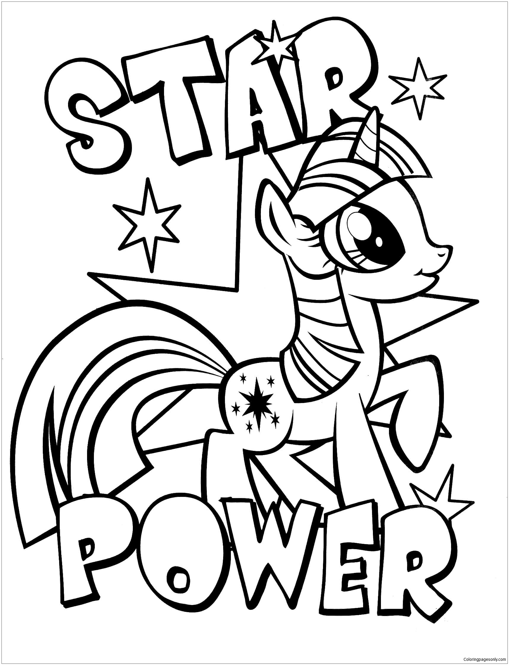 - My Little Pony 3 Coloring Page - Free Coloring Pages Online