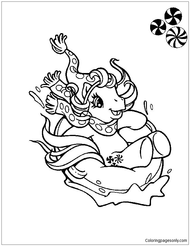 My Little Pony 4 Coloring Page