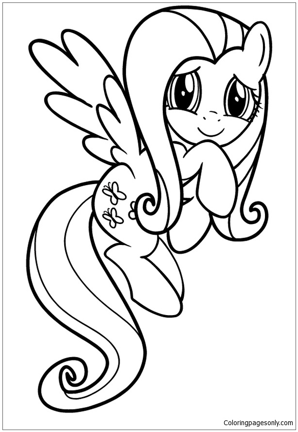 My Little Pony 7 Coloring Page