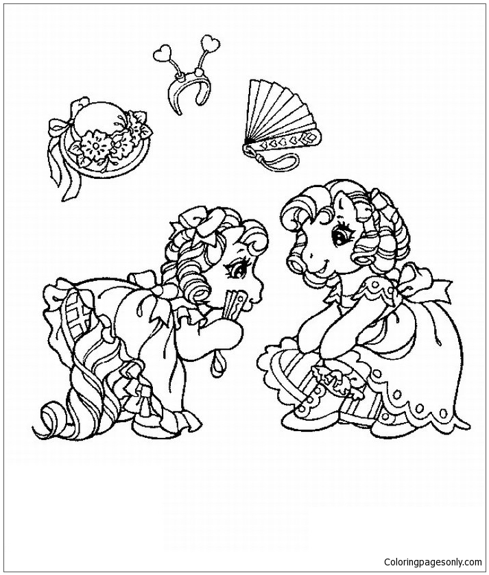 Hard My Little Pony Coloring Pages : My little pony coloring page free pages online