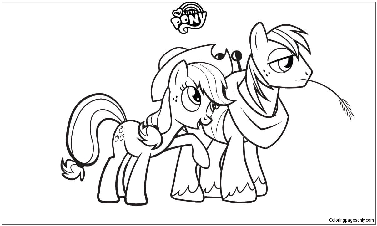 My Little Pony Base Coloring Page Free Coloring Pages Online