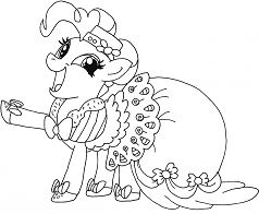 My Little Pony Girl Coloring Page