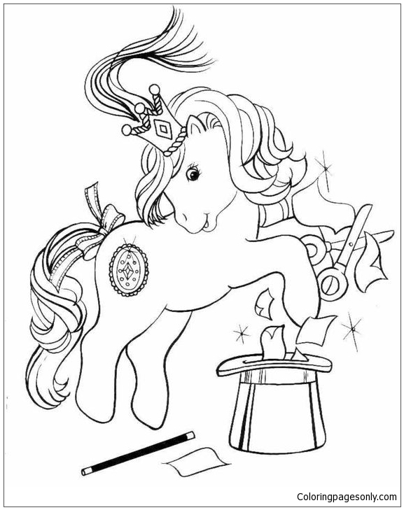 My Little Pony Make Magician Coloring Page