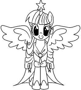 My Little Pony Malvorlagen Coloring Page
