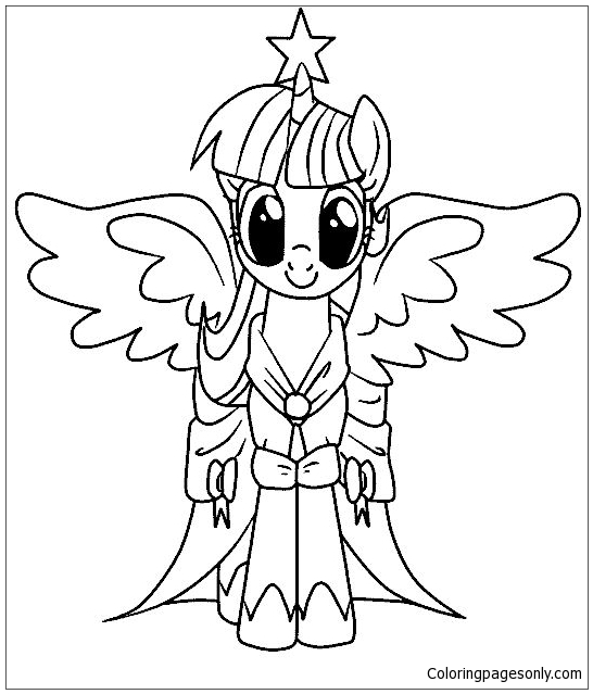 My Little Pony Malvorlagen Coloring Page - Free Coloring Pages Online