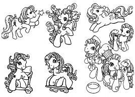 My Little Pony Photo Gallery Coloring Page