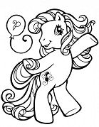 My Little Pony Pinkie Pie 1 Coloring Page