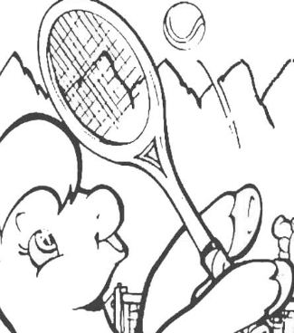 My Little Pony Playing Tennis