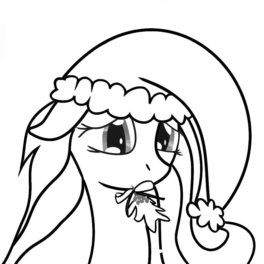 My Little Pony Rarity Cute Coloring Page - Free Coloring Pages Online