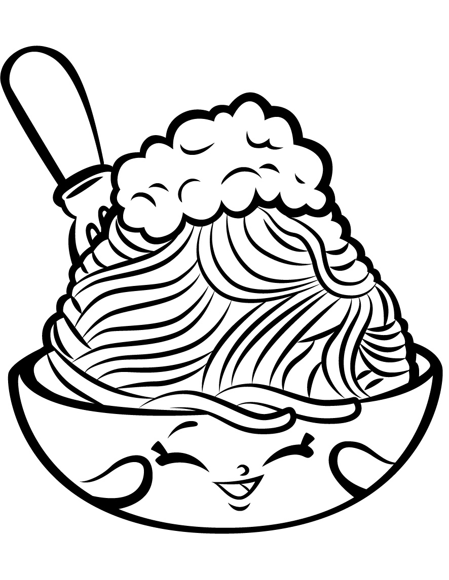 Cheeky Chocolate Shopkin Season 1 Coloring Page Free Coloring Pages Online