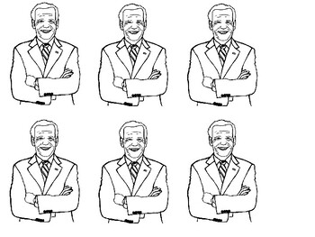 New Images For Joe Biden Coloring Page