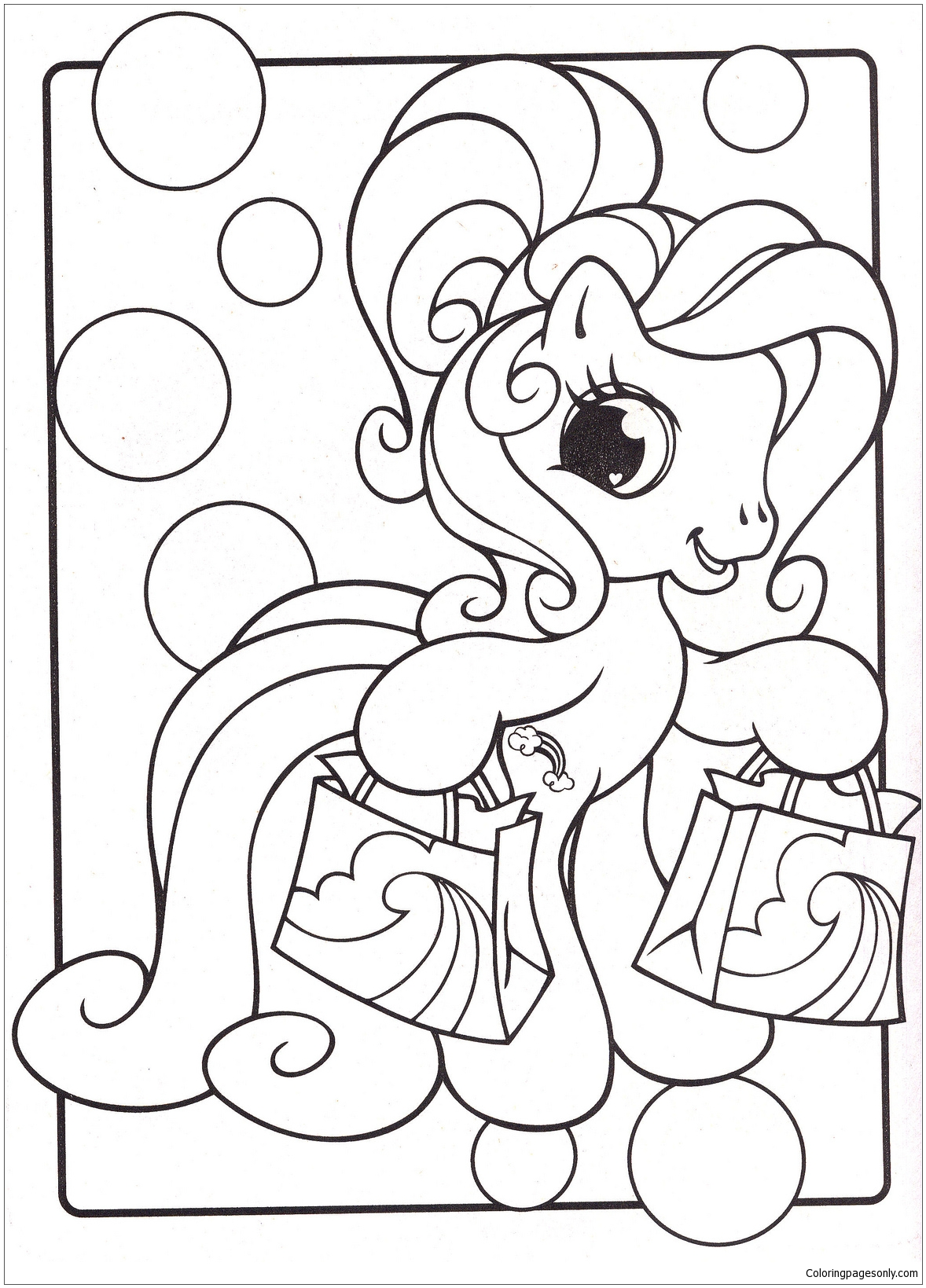 New My Little Pony Coloring Page Free Coloring Pages Online