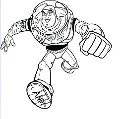 New Superhero Coloring Page