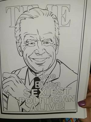 New United Stats President Coloring Page