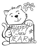New Year With Cute Bears