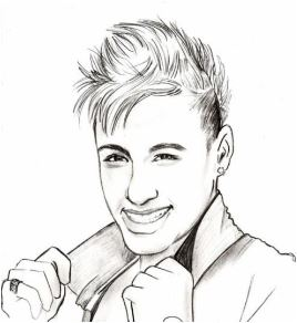 Neymar-image 14 Coloring Page