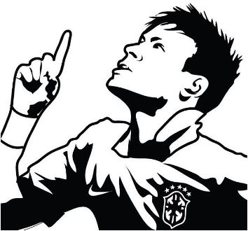 Neymar-image 16 Coloring Page