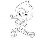 Night Ninja From PJ Masks Coloring Page