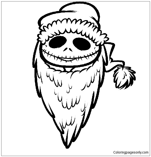 - Nightmare Before Christmas Coloring Page - Free Coloring Pages Online