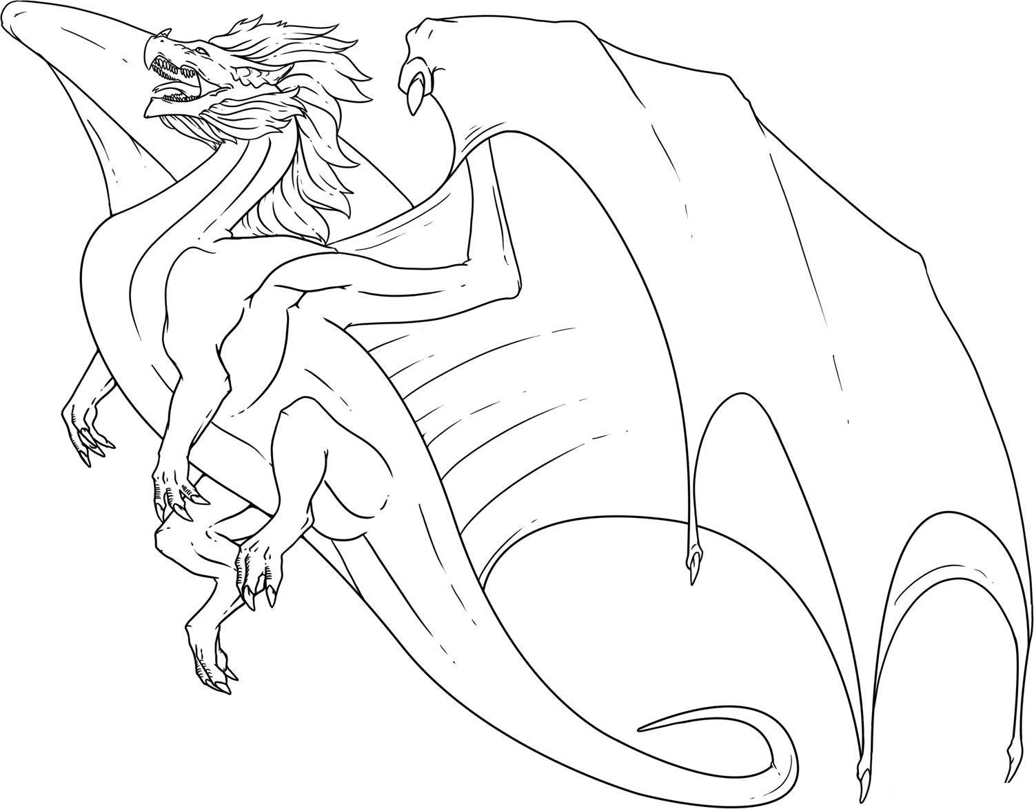 Ninjago dragon Coloring Page