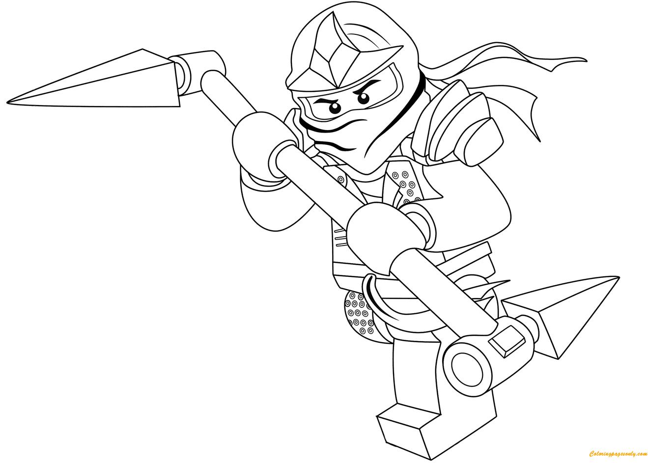 ninjago lord garmadon kleurplaat ausmalbilder lego ninjago