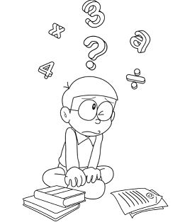 Nobita Studied Mathematics