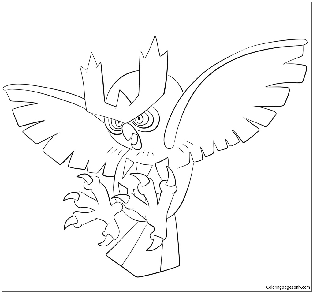 Chesnaught Coloring Pages Coloring