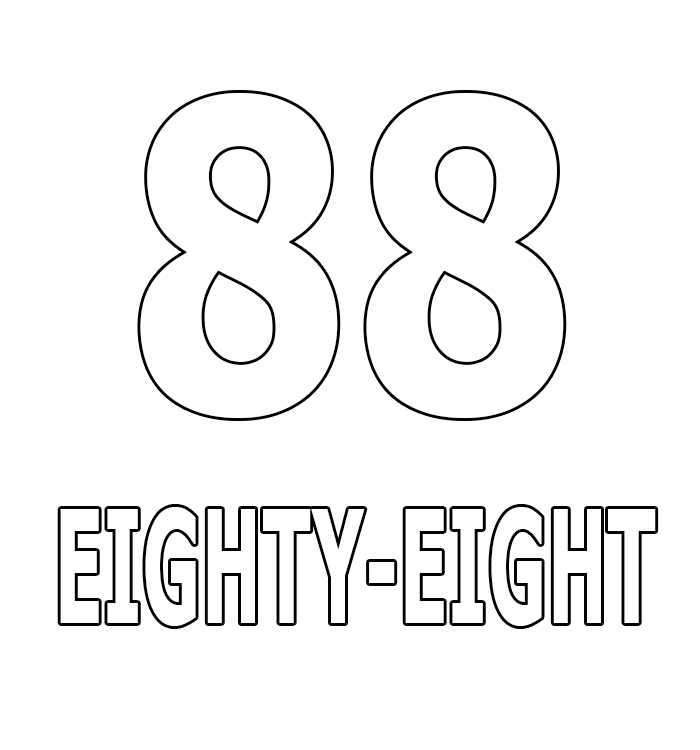 Number Eighty-Eight