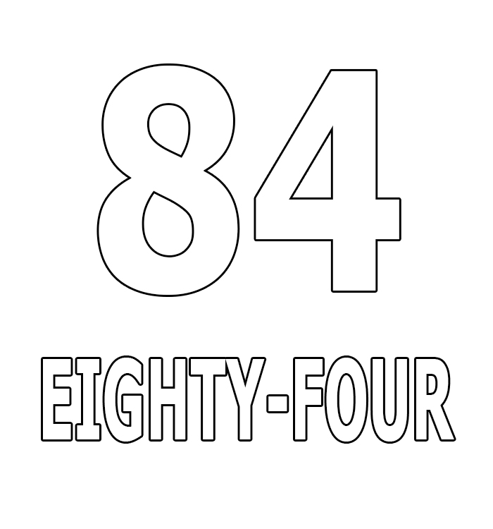 Number Eighty-Four