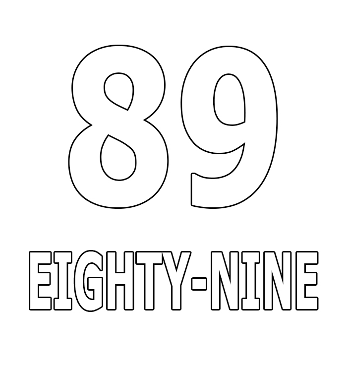 Number Eighty-Nine