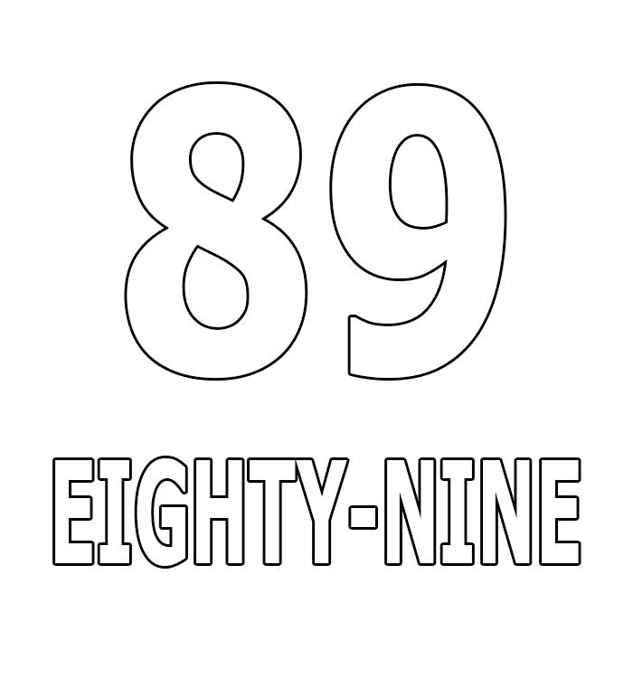 Number Eighty-Nine