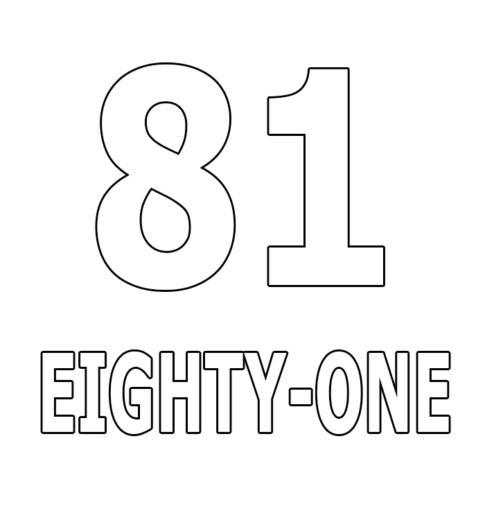 Number Eighty-One