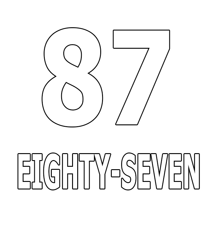 Number Eighty-Seven