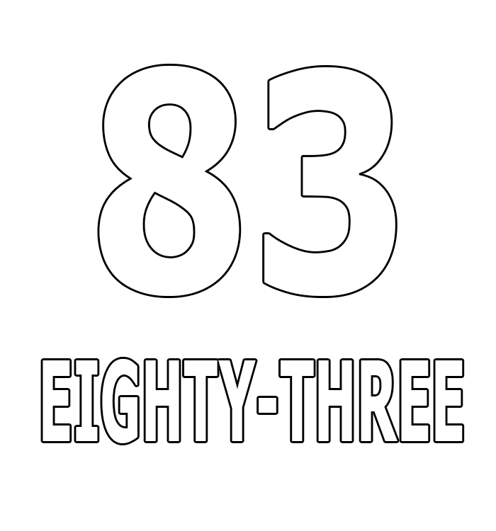 Number Eighty-Three